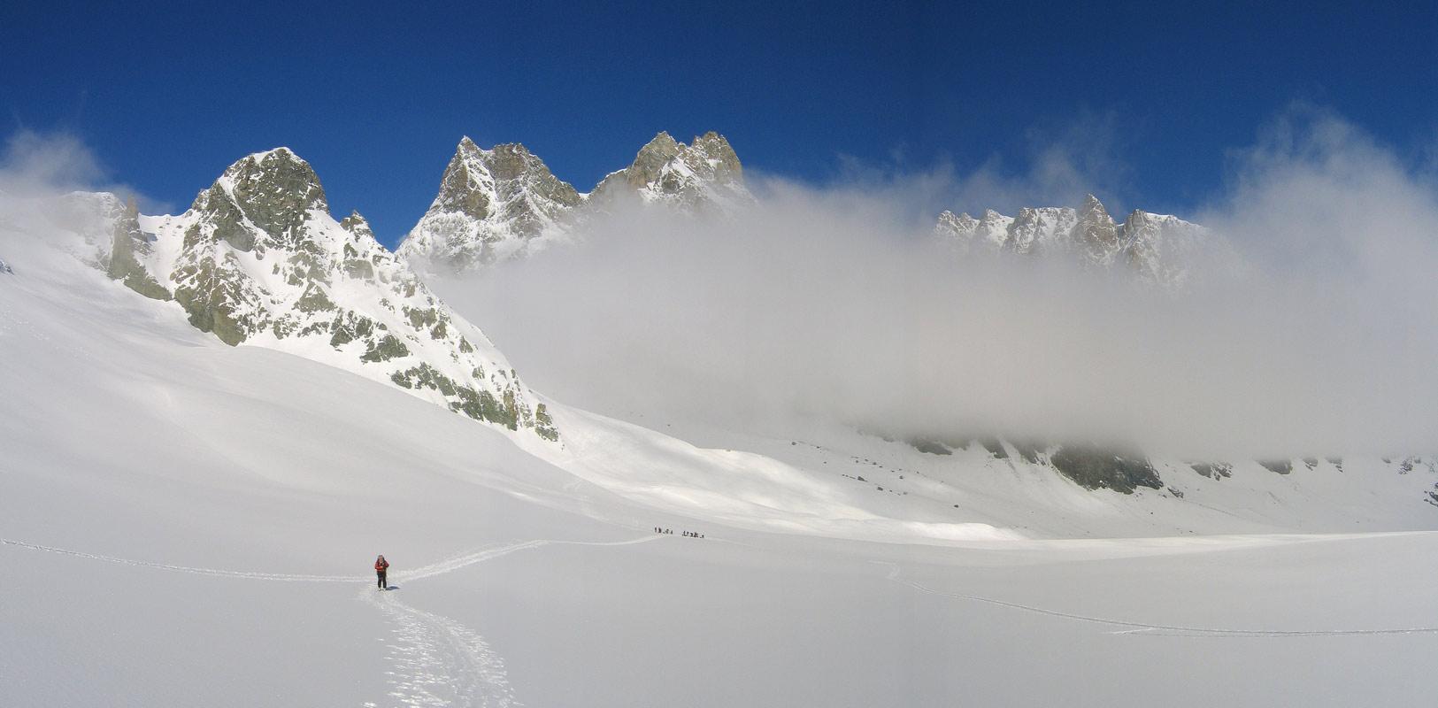 Col Valpelline, Day 6 H.R. Chamonix-Zermatt Walliser Alpen / Alpes valaisannes Švýcarsko panorama 31
