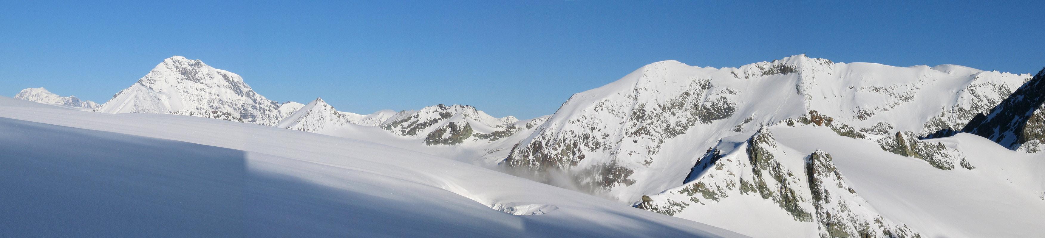 Col Valpelline, Day 6 H.R. Chamonix-Zermatt Walliser Alpen / Alpes valaisannes Švýcarsko panorama 28
