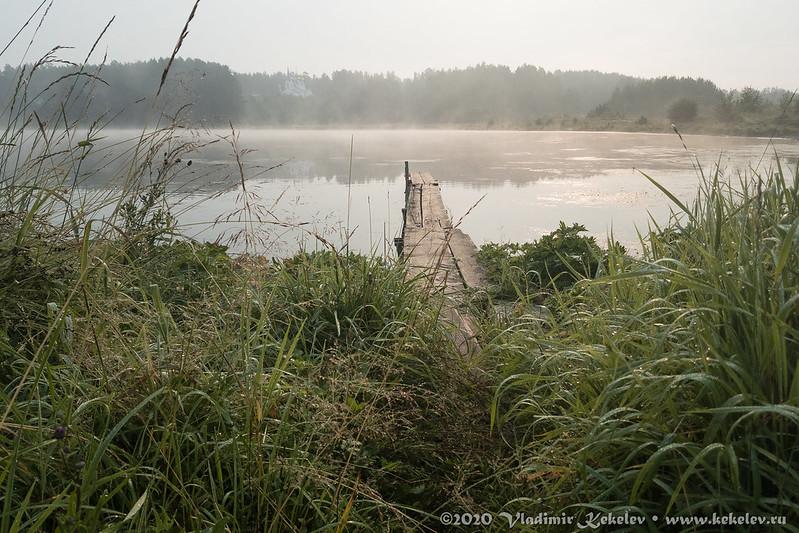 Мурашовское озеро. Утро *4800
