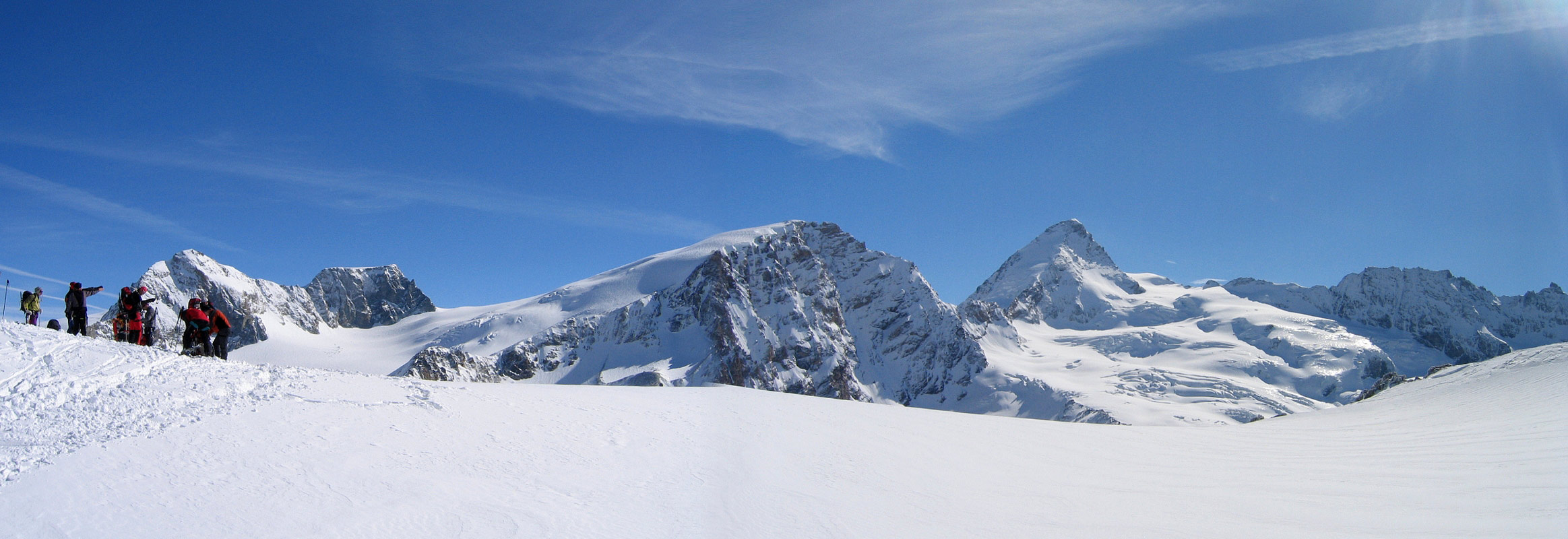 Col Valpelline, Day 6 H.R. Chamonix-Zermatt Walliser Alpen / Alpes valaisannes Švýcarsko panorama 51