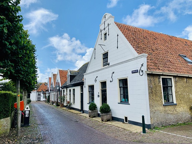 Houses in Oosterend (Texel, The Netherlands 2020)