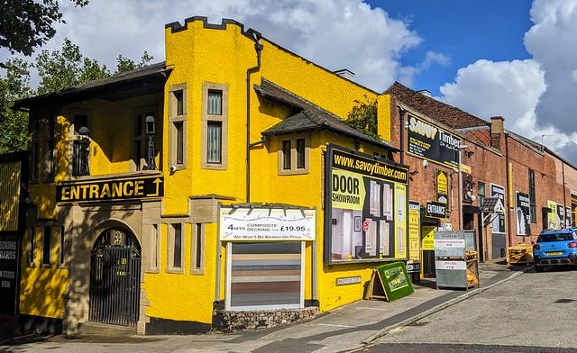 Old Savoy Cinema in Preston