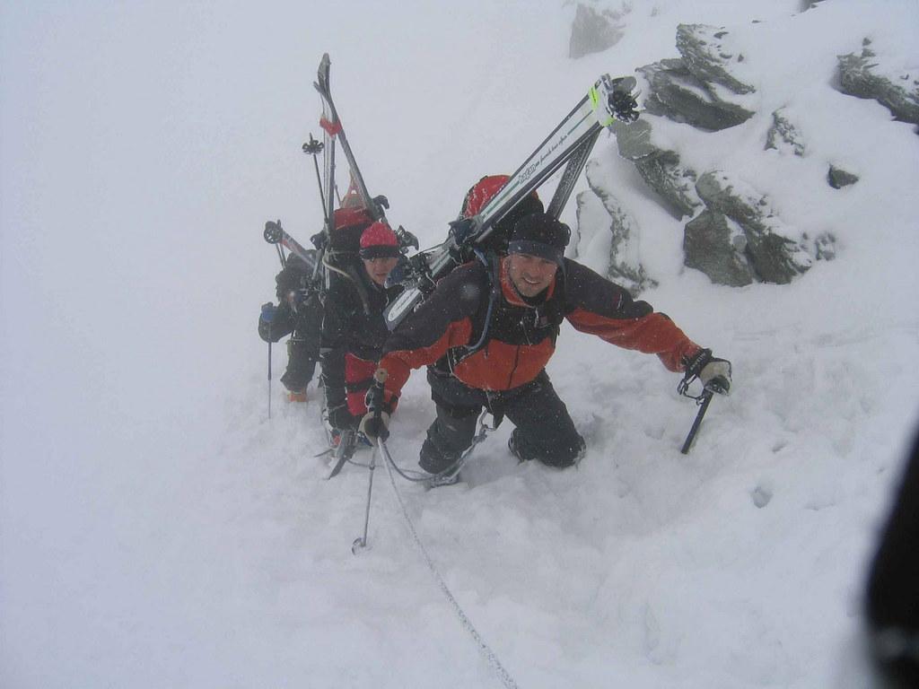 Plateau Couloir, Day4 H.R.Chamonix-Zermatt Walliser Alpen / Alpes valaisannes Schweiz foto 08
