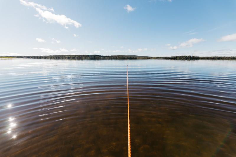 Jerisjärvi nuottaus