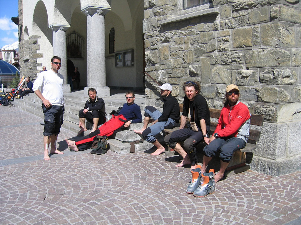 Col Valpelline, Day 6 H.R. Chamonix-Zermatt Walliser Alpen / Alpes valaisannes Switzerland photo 65
