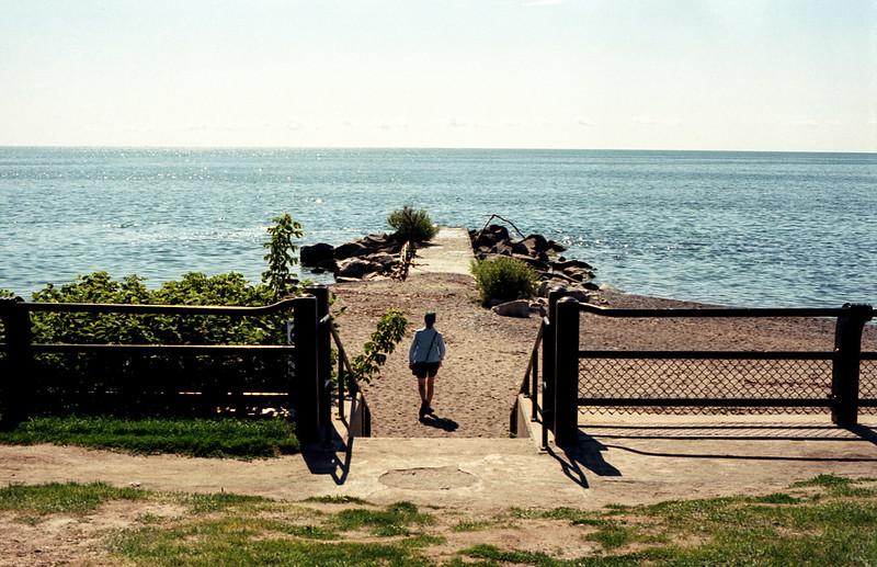 Walking Onto the Secret Beach_