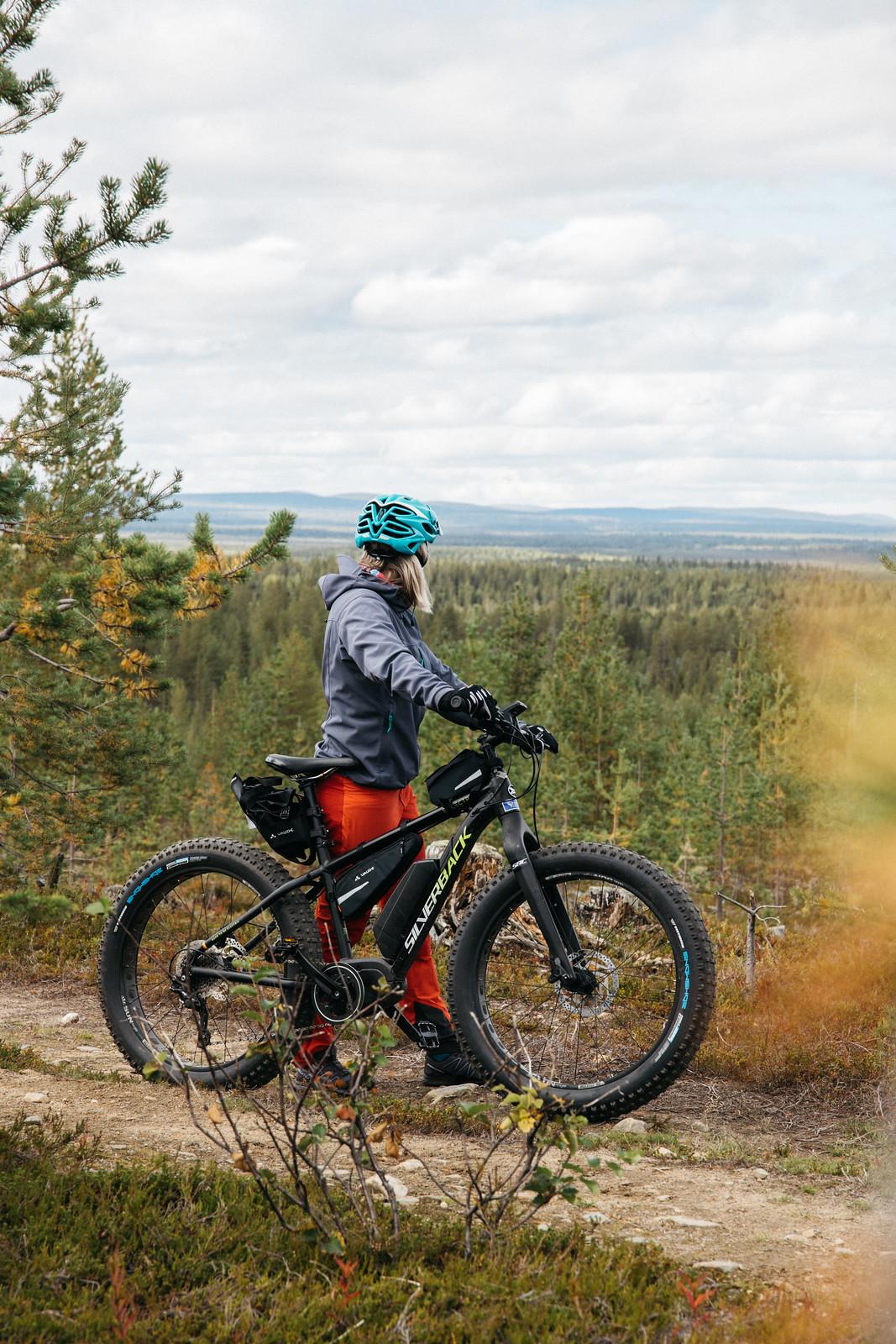 Levi maastopyöräily