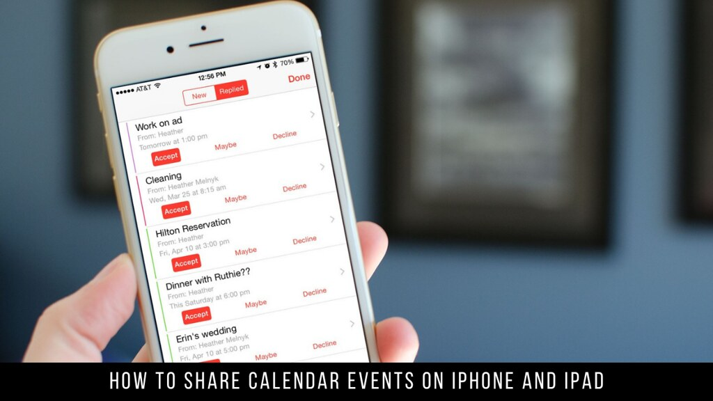How to Share Calendar Events on iPhone and iPad