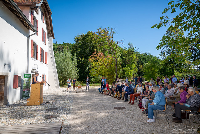 Local Award Ceremony for the Manor Farm of Bois de Chênes, Switzerland