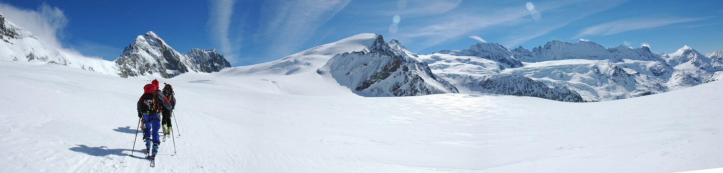 Col Valpelline, Day 6 H.R. Chamonix-Zermatt Walliser Alpen / Alpes valaisannes Švýcarsko panorama 24