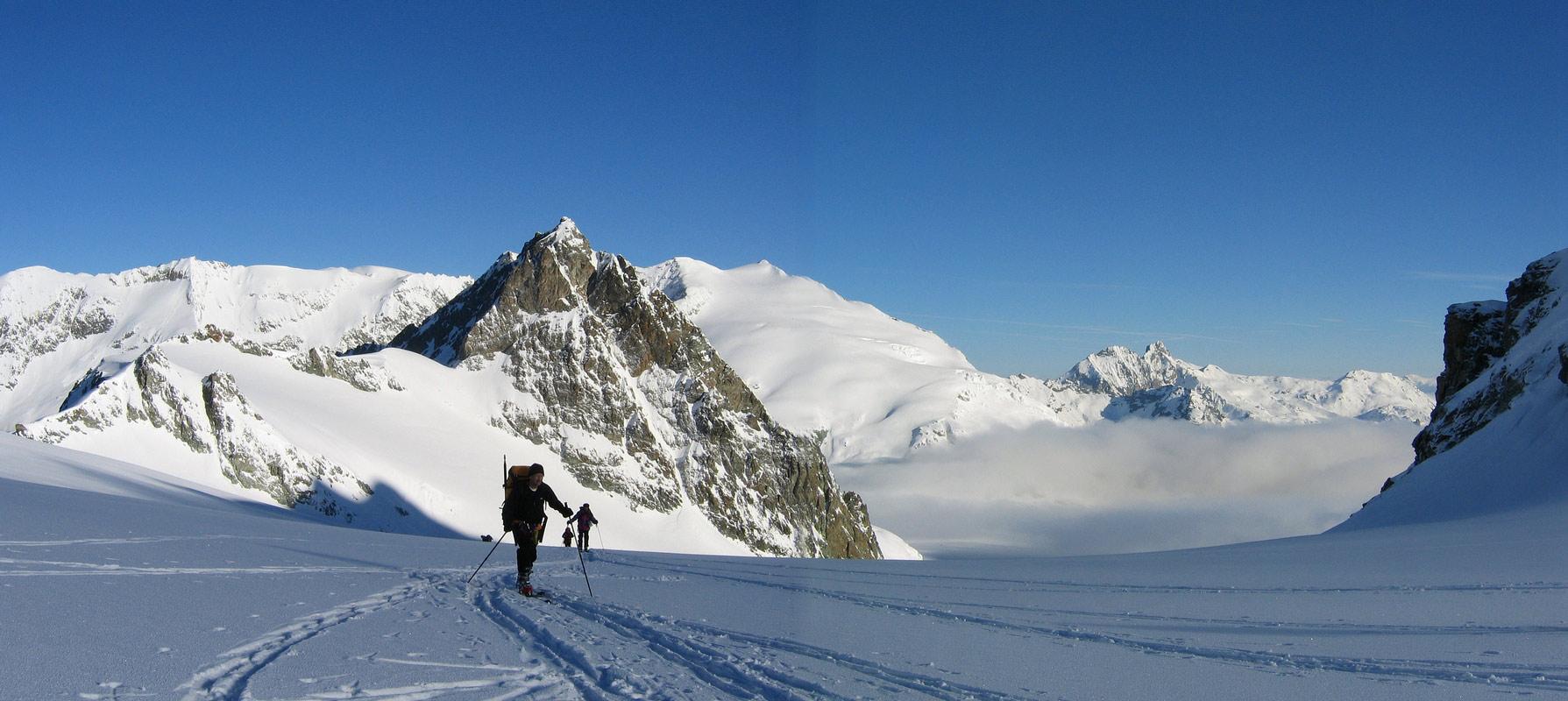 Col Valpelline, Day 6 H.R. Chamonix-Zermatt Walliser Alpen / Alpes valaisannes Švýcarsko panorama 25