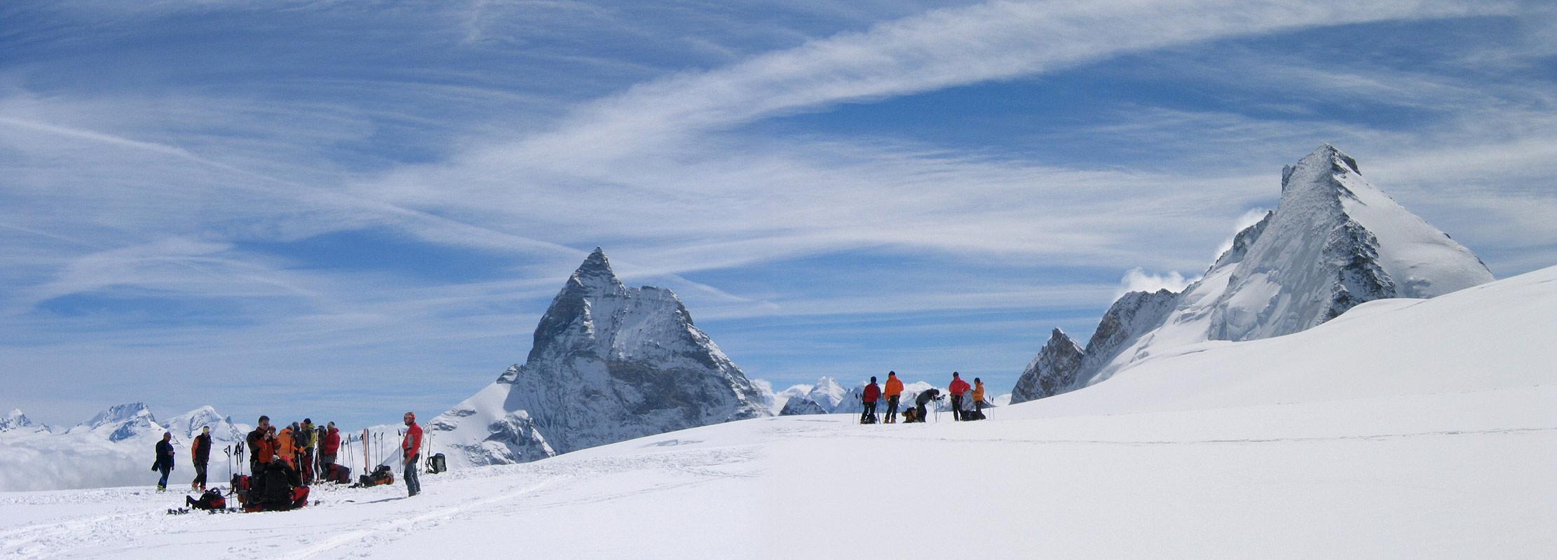 Col Valpelline, Day 6 H.R. Chamonix-Zermatt Walliser Alpen / Alpes valaisannes Švýcarsko panorama 47