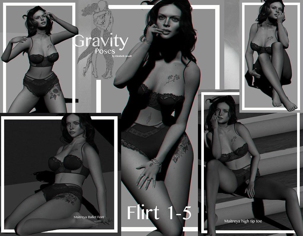 Gravity Poses – Flirt 1-5 vendor