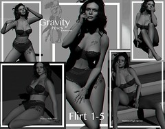 Gravity Poses - Flirt 1-5 vendor