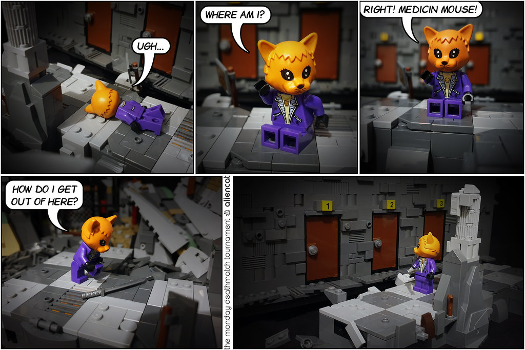 The Monday Deathmatch Tournament - Page 173: In the Dungeon