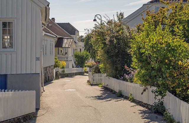 Autumn and empty in Brekkestø