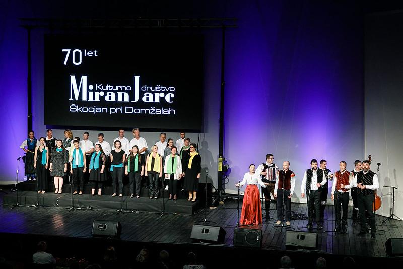 70-let Kulturnega društva Miran Jarc Škocjan