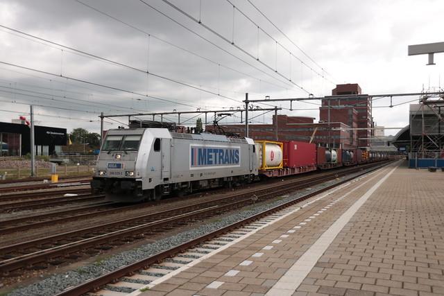 Metrans 386 029 te Amersfoort