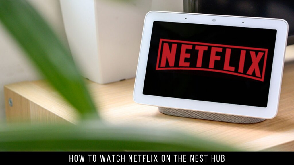 How to Watch Netflix on the Nest Hub