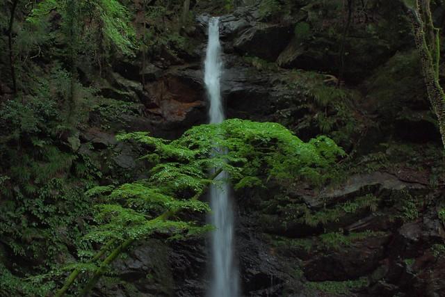 An étude: A waterfall (1)