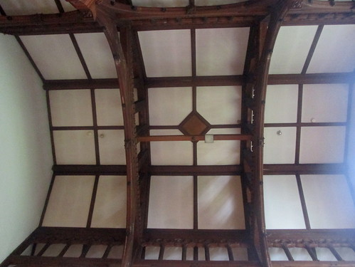 Gladstone's Library Reading Room Ceiling