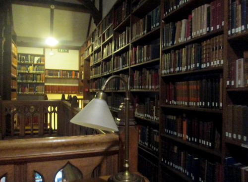 Reading Room, Gladstone's Library, Upper Floor