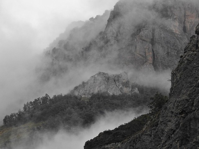 Niebla en Somiedo (Asturias)