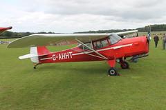 G-AHHT Auster J1N [1963] Popham 070920
