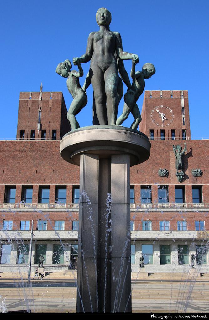 Oslo City Hall, Oslo, Norway
