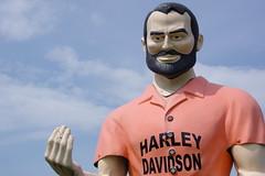 Harley Davidson dude