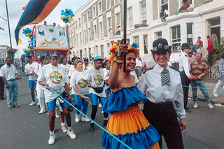 Notting Hill Carnival, 1994. Peter Marshall 94c8-nh-125-positive_2400