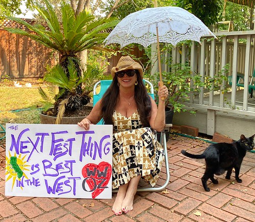The Best Festing in the West, from Susan. We agree!