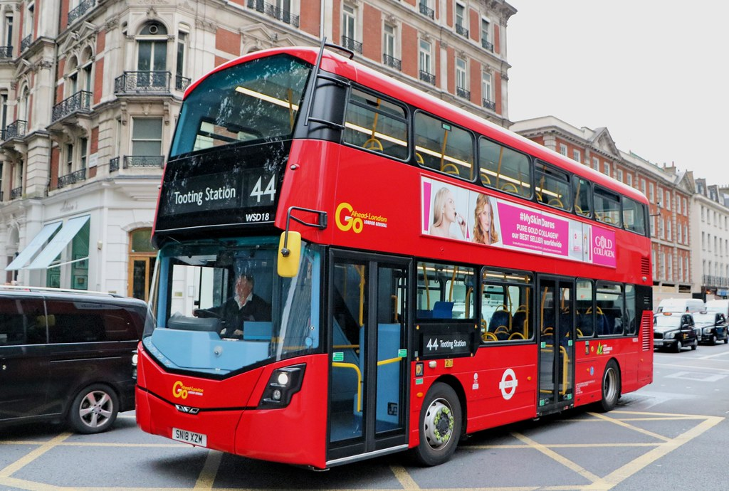 Go Ahead London General - WSD18 - SN18XZM