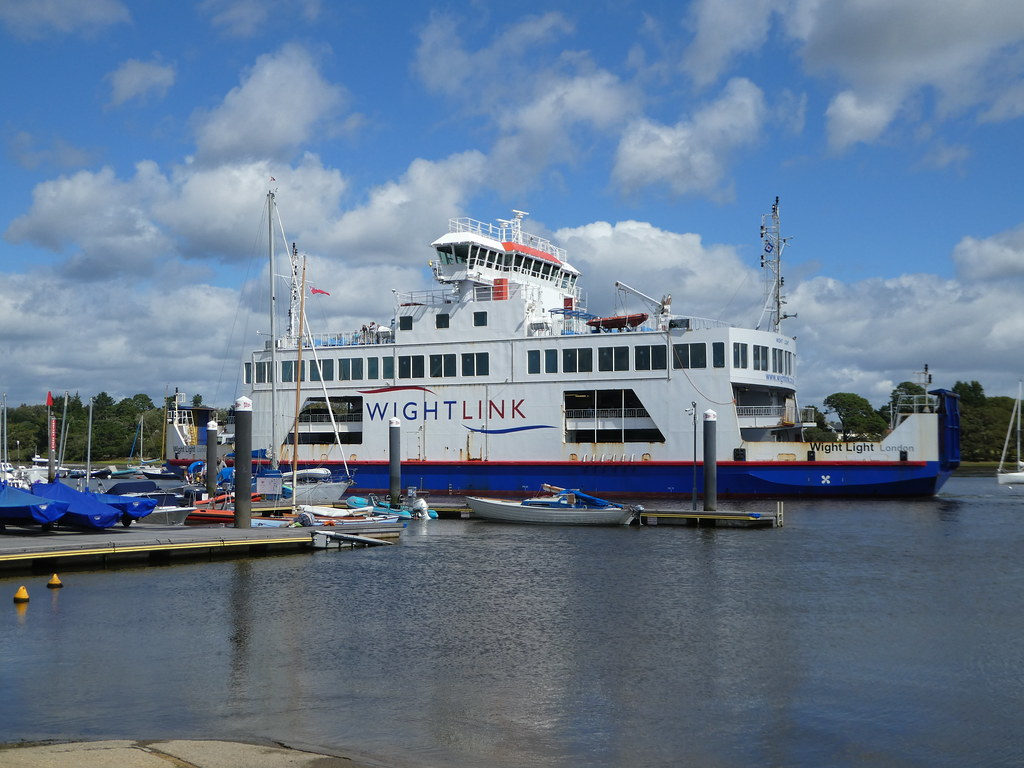WightLink Car Ferry Lymington Pier
