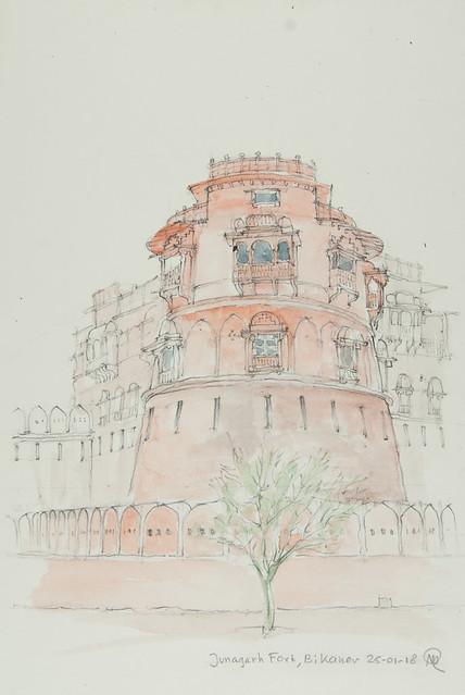 180125 Bikaner - Junagarh Fort