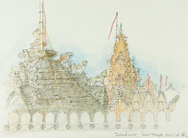 180128 Jaisalmer - Jain Temple