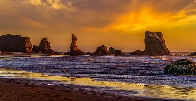 Bandon Sunset  8247-