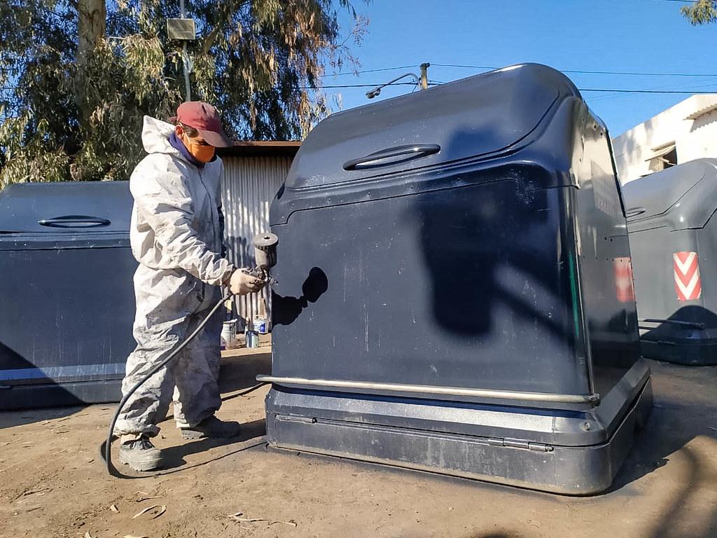 2020-09-07 Limpieza y desinfección de camiones y contenedores S.A.R.R