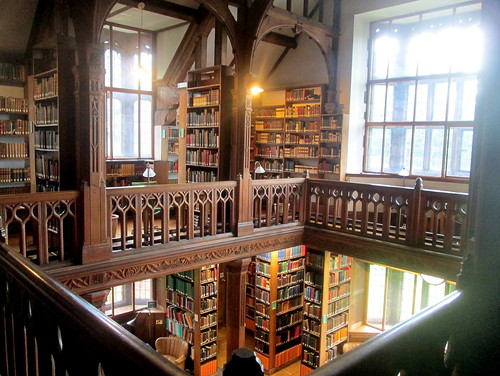 Reading Room, Gladstone's Library, Upper and Lower Floors