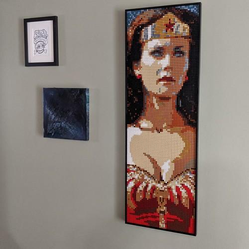 Wonder Woman LEGO Art Style