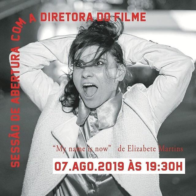 Reabertura Cine 104. Circuito Salas de Cinema. My Name Is Now, Elza Soares - direção Elizabete Martins Campos. Belo Horizonte