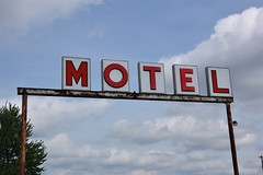 MOTEL sign in Mt. Olive