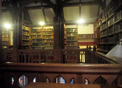 Upper Floor, Gladstone's Library Reading Room