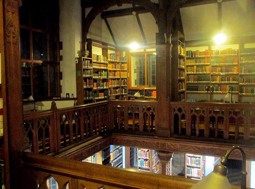 Gladstone's Library Reading Room Upper Floor