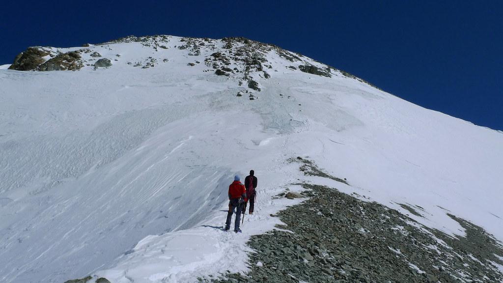 Mont Durand / Arbenhorn Walliser Alpen / Alpes valaisannes Schweiz foto 43