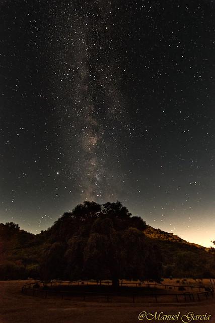 Chaparro de la Vega y Vía Lactea