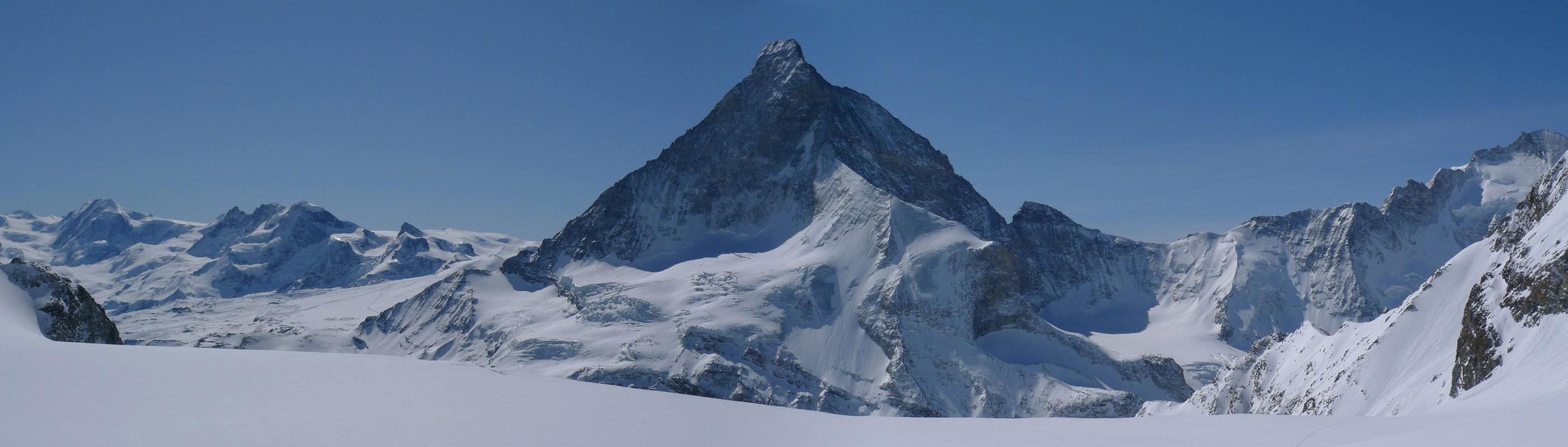 Mont Durand / Arbenhorn Walliser Alpen / Alpes valaisannes Schweiz panorama 37