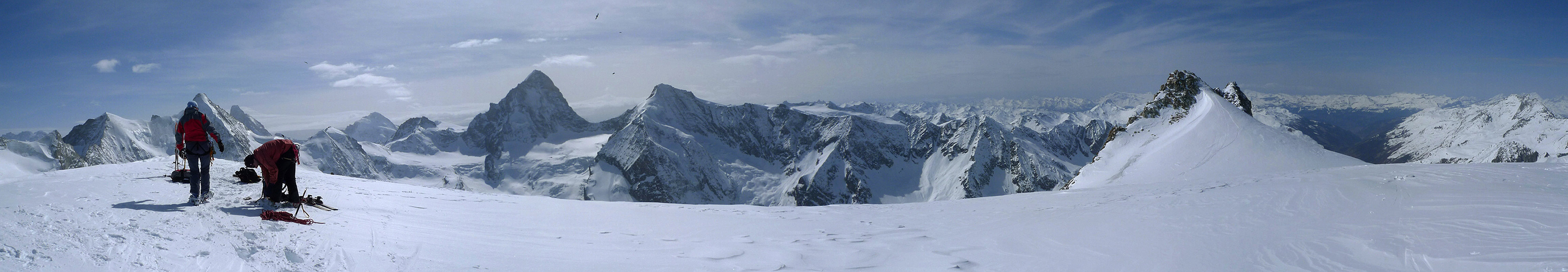 Mont Durand / Arbenhorn Walliser Alpen / Alpes valaisannes Schweiz panorama 41