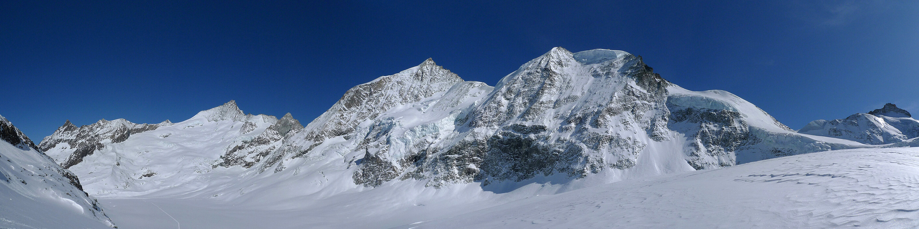 Mont Durand / Arbenhorn Walliser Alpen / Alpes valaisannes Switzerland panorama 46