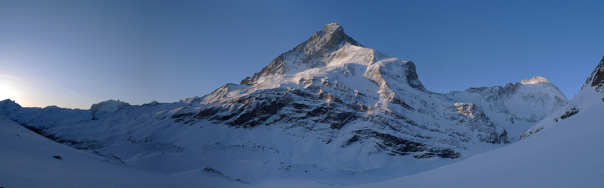 Mont Durand / Arbenhorn Walliser Alpen / Alpes valaisannes Switzerland panorama 16